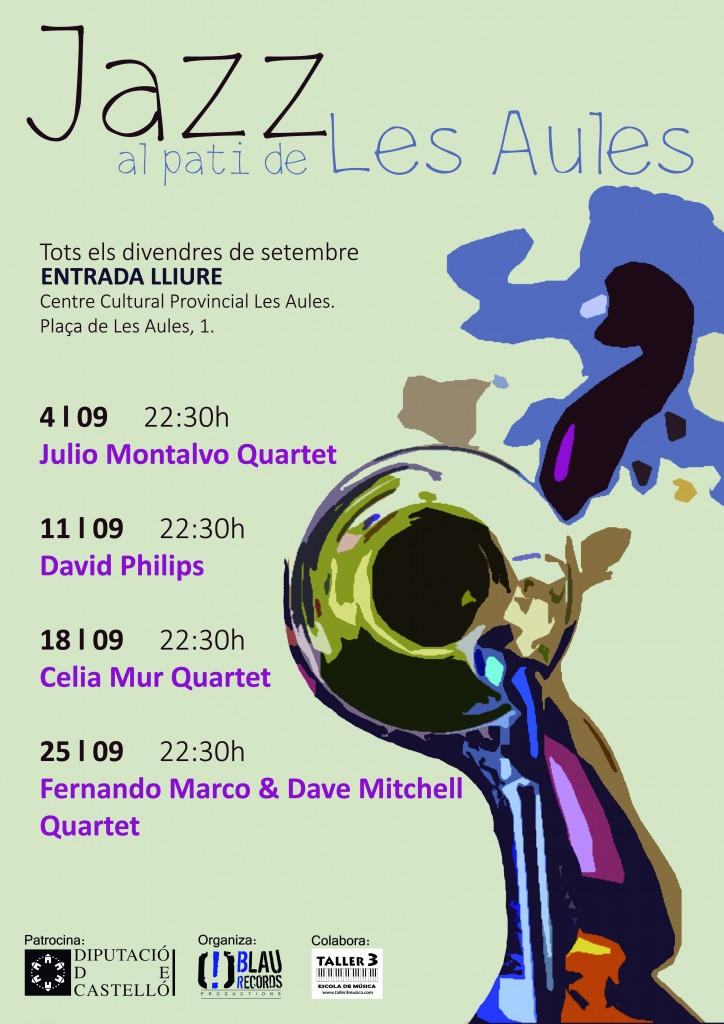 Cartel Jazz al pati
