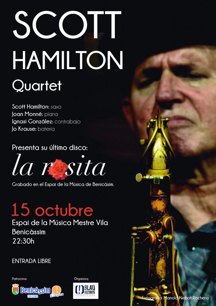Scott Hamilton - 15 octubre